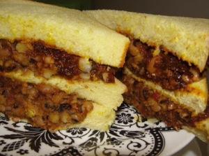 Beans sandwich